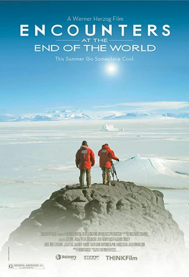 Coronavirus self-quarantine: travel films, Encounters at end of the world