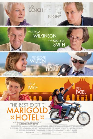 Coronavirus self-quarantine: travel films, Best Exotic Marigold Hotel