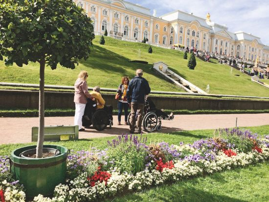 Cruise excursions: St Petersburg russia