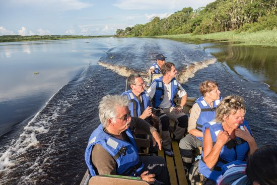 Adventure holidays: Amazon river cruise