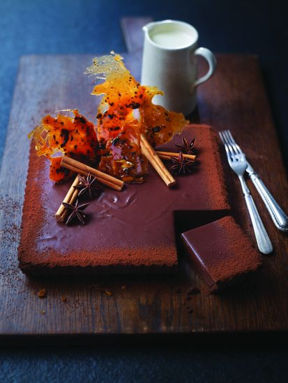 Chefs recipes: West Indies chocolate tart Eric Lanlard