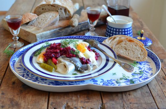 Chefs recipes: Herring under a fur coat