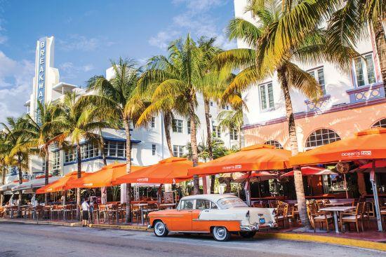 Central America cruise: Miami Ocean Drive