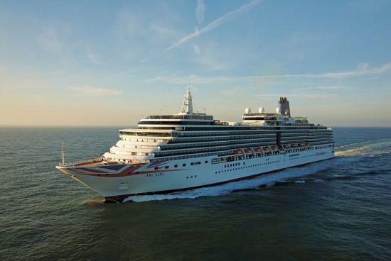 P&O Cruises Arcadia coronavirus