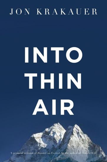Best travel books: Into Thin Air