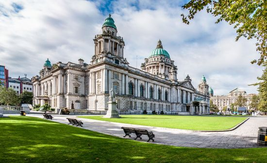 British Isles cruise: Belfast city hall