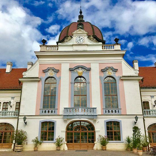 Europe river cruises: Godollo palace
