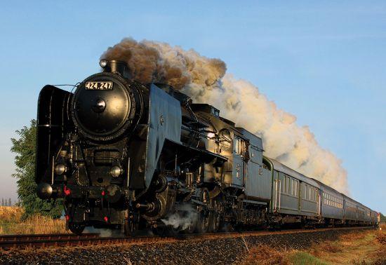 Europe river cruise: Grand Empress Steam Train