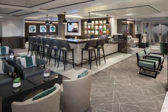 Celebrity Silhouette: The Retreat Lounge, Celebrity Cruises
