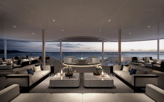 Silver Origin Lounge Terrace View