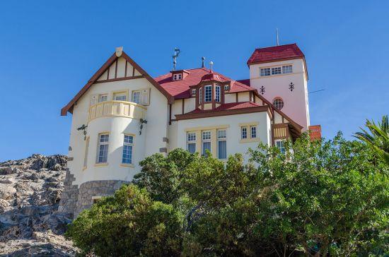 Luderitz port guide: Goerke Haus