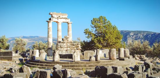 Mediterranean cruises: greece, greek islands ruins