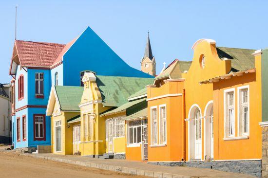 Lüderitz town namibia