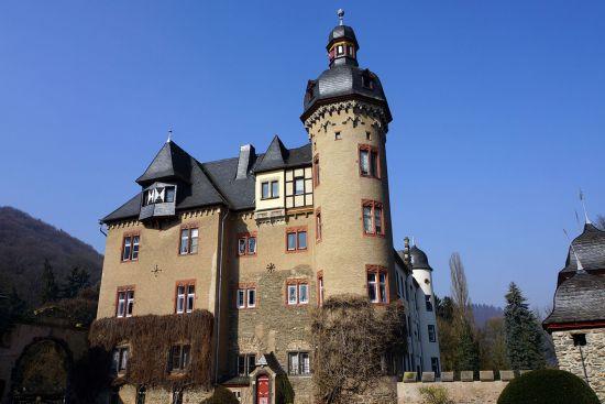 Europe river cruise: Namedy castle