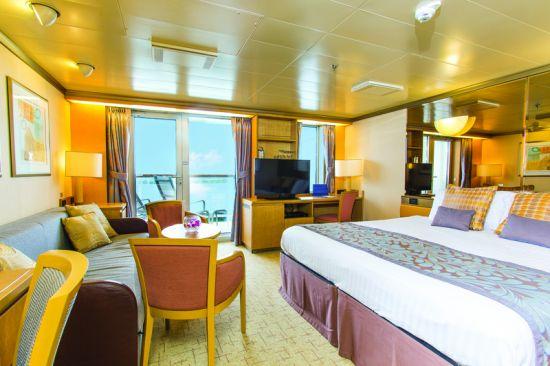 P&O Cruises Arcadia: mini suite