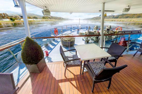 Tui River Cruises: Skyla observatory terrace