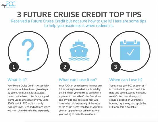 future cruise credit tips