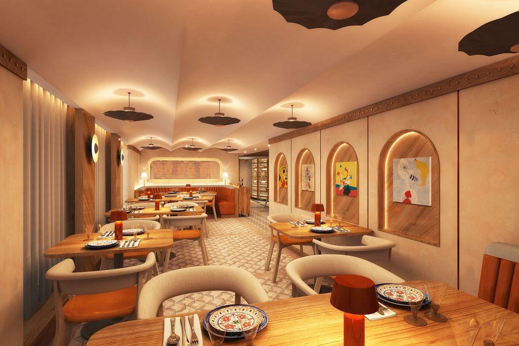 Windstar Cruises: dining areas, Star Plus