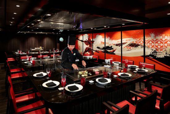 Harmony of the Seas: Izumi restaurant, Royal Caribbean