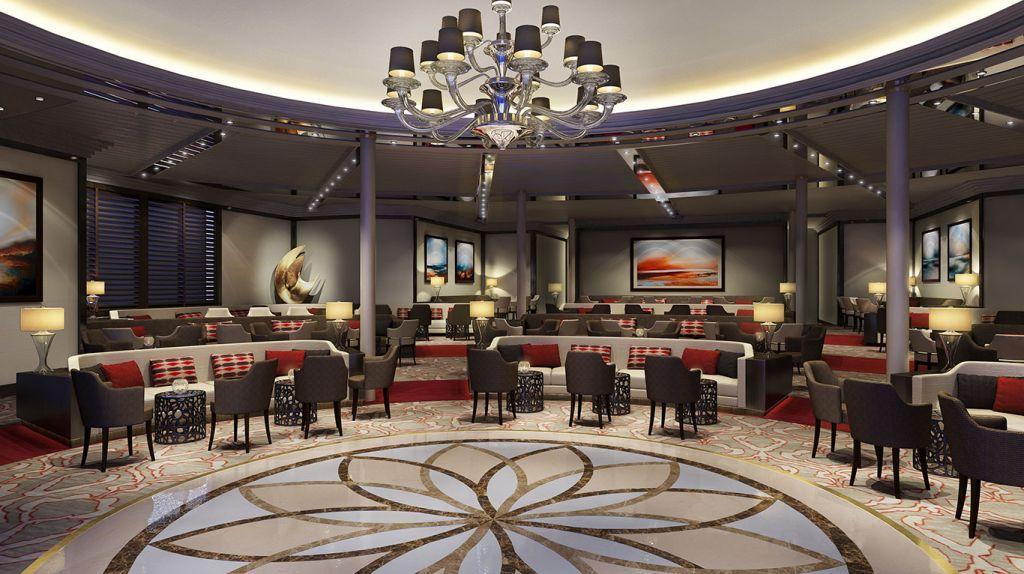 Windstar Cruises: lounge, Star Plus initiative
