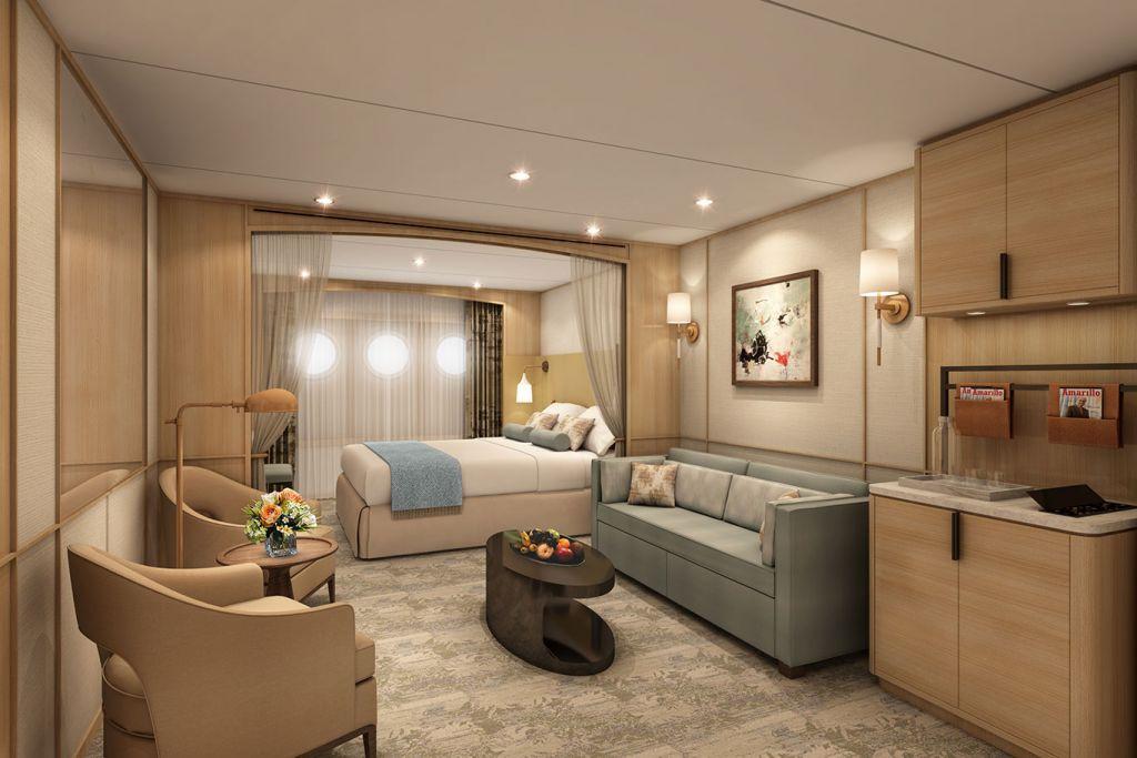 Windstar Cruises: suite, Star Plus