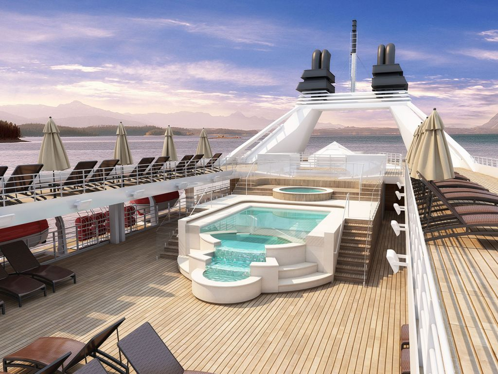 Windstar Cruises: whirlpool